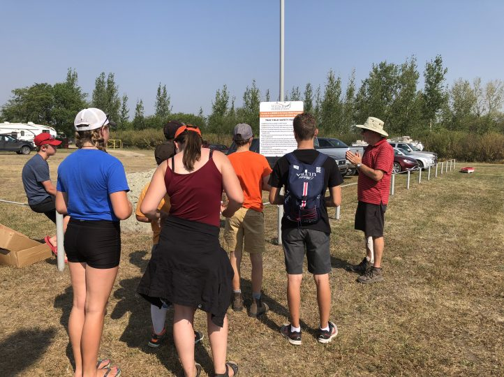 Rules at trapshooting