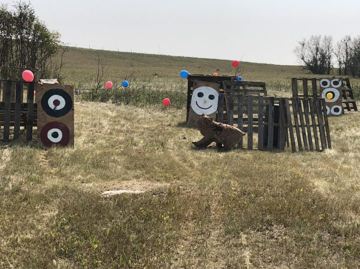 paint ball course